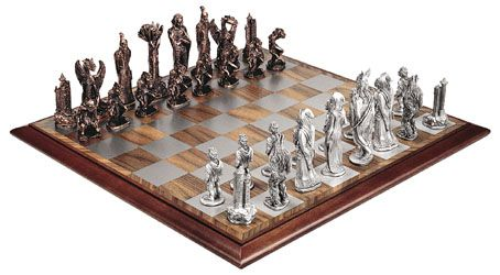 Graeme Anthony Pewter Products Chess Sets