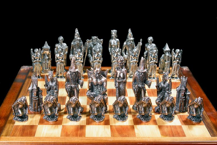 Detailed Chess Set Part - 42: 1208 Best Chess Images On Pinterest | Chess Sets, Chess Boards And Chess  Pieces