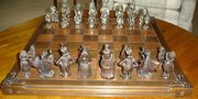 Alice in Wonderland chess set. Edition 1 number 43. - Select to View Larger Image
