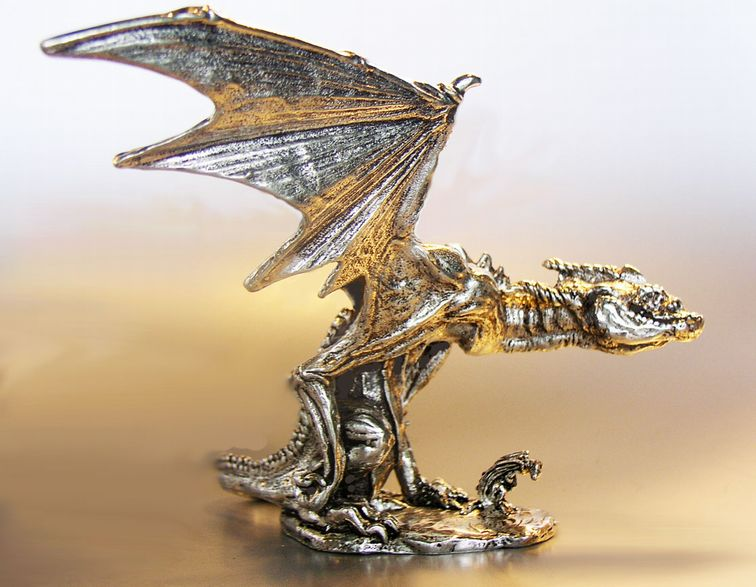 Graeme Anthony Pewter - Products - Dragons
