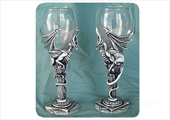 Dragon goblets -DRAGON PORT GLASSES - Select to View Larger Image